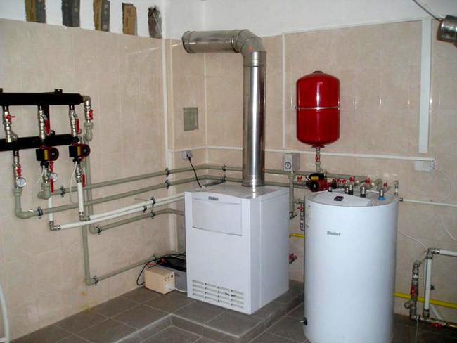 Заземление газового котла в частном доме своими